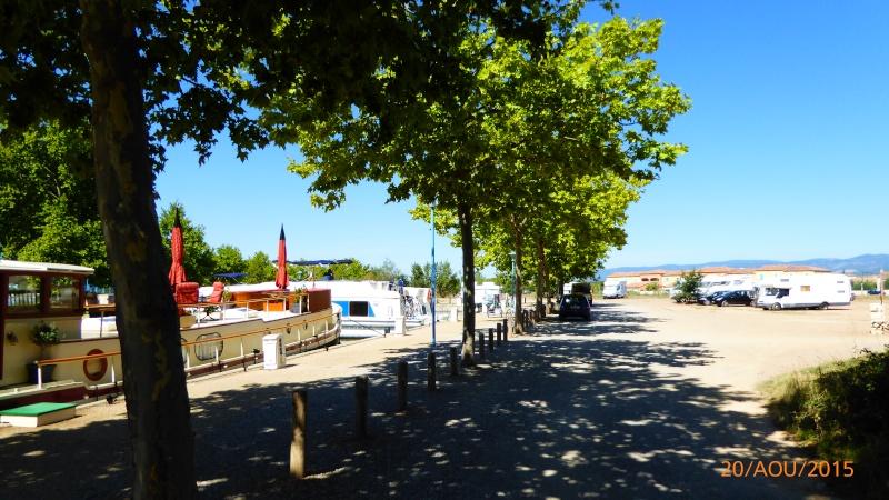 Homps (petit port Minervois) - Aire de stationnement Homps_11