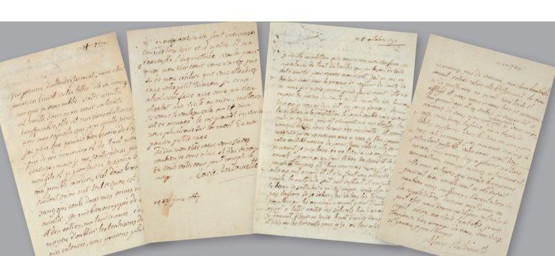 Vente de Souvenirs Historiques - aux enchères plusieurs reliques de la Reine Marie-Antoinette - Page 2 11_let10