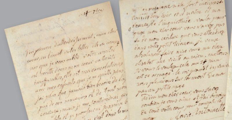 Vente de Souvenirs Historiques - aux enchères plusieurs reliques de la Reine Marie-Antoinette - Page 2 11_let11