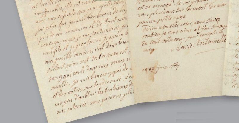 Vente de Souvenirs Historiques - aux enchères plusieurs reliques de la Reine Marie-Antoinette - Page 2 11_let12