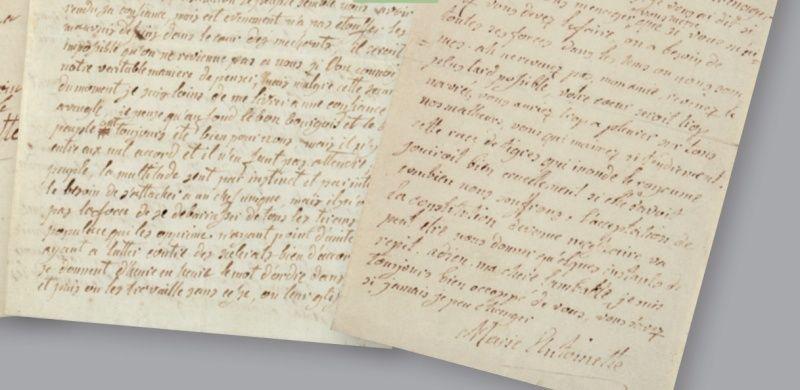 Vente de Souvenirs Historiques - aux enchères plusieurs reliques de la Reine Marie-Antoinette - Page 2 11_let14