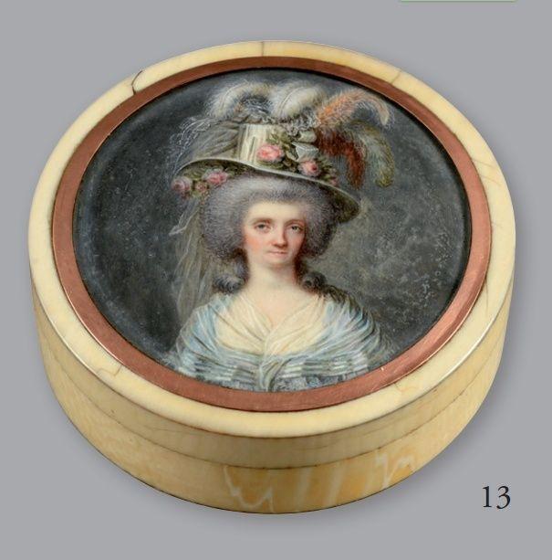 Vente de Souvenirs Historiques - aux enchères plusieurs reliques de la Reine Marie-Antoinette - Page 2 13_boi10