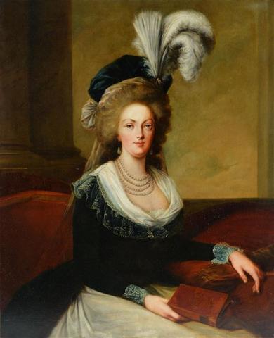 A vendre: tableaux Marie-Antoinette, Versailles et XVIIIe siècle 15415410