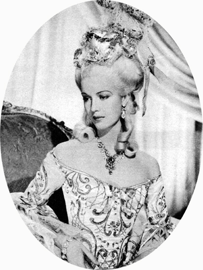Madame du Barry de William Dieterle (1934) avec Anita Louise 1934-d10