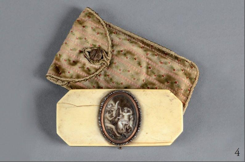 Vente de Souvenirs Historiques - aux enchères plusieurs reliques de la Reine Marie-Antoinette - Page 2 4_nece10