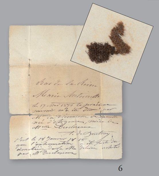 Vente de Souvenirs Historiques - aux enchères plusieurs reliques de la Reine Marie-Antoinette - Page 2 6_bas10