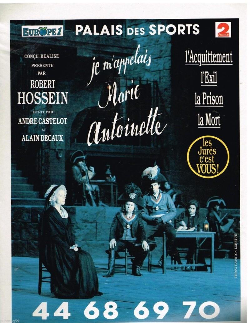 """""""Je m'appelais Marie Antoinette"""" (Robert Hossein) _5722"""