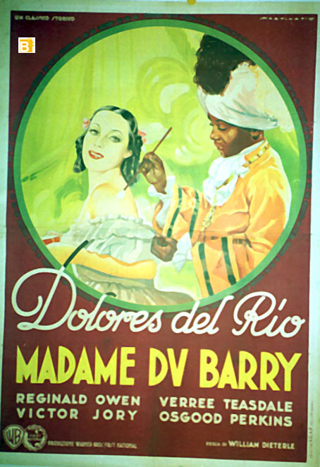 Madame du Barry de William Dieterle (1934) avec Anita Louise Poster10