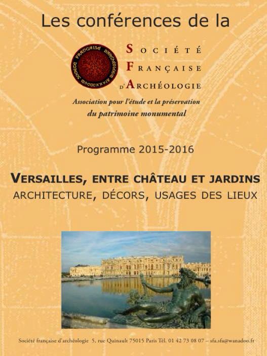 Cycle de conférences « Versailles, entre château et jardins : architecture, décors, usages et lieux » Z1764_10