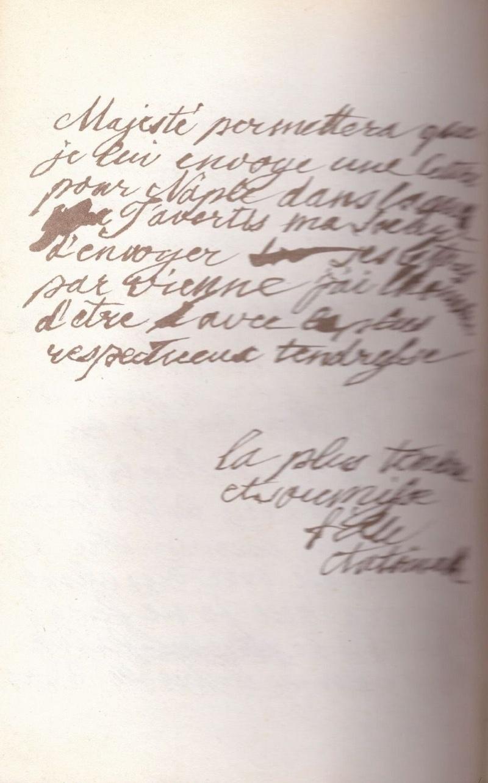 Correspondance entre Marie-Antoinette et sa mère  Zzz11