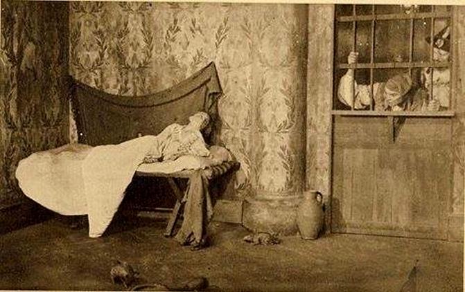La Conciergerie : Marie-Antoinette dans sa cellule. - Page 3 Zzzzs10