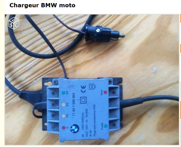 CHARGEUR BMW Charge10