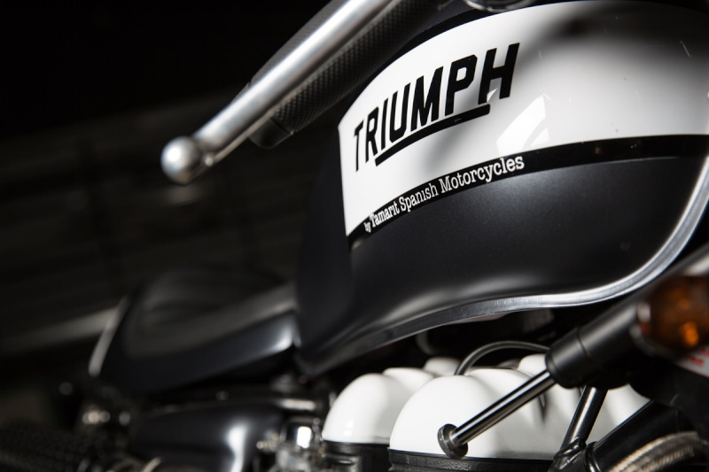 Thruxton by Tamarit Triump15