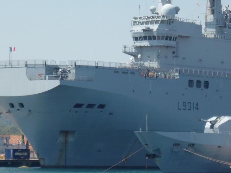 porte-hélicoptères Tonnerre et le transport de chalands Siroco P1010716