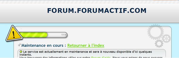 Les messages de problèmes techniques sur les forums 05-11-10