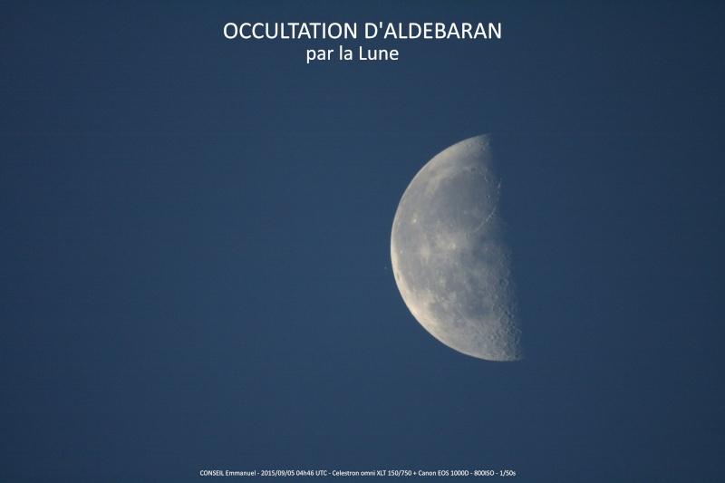 Occultation d'Aldébaran par la Lune Lune_a10