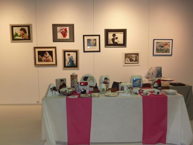 Quelques images de notre exposition... P1140813