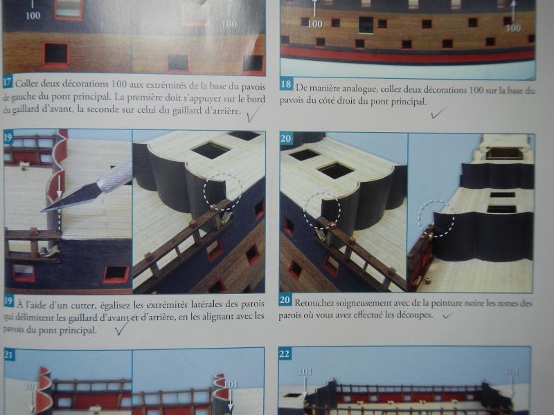 """Construction du """"Sovereign of the Seas"""" (SotS) au 1/84 (Partie 2)  Dscn2838"""