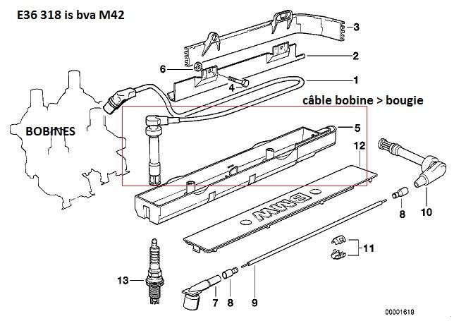 [ Bmw E36 318 IS Bva an 1994 ] Moteur broute pendant 10 secondes après démarrage lorsque chaud 12_e3610