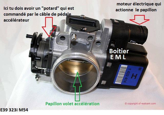 Bmw e39 523i m52 an 1999 probl me eml allum en mode for Camera schoonmaken