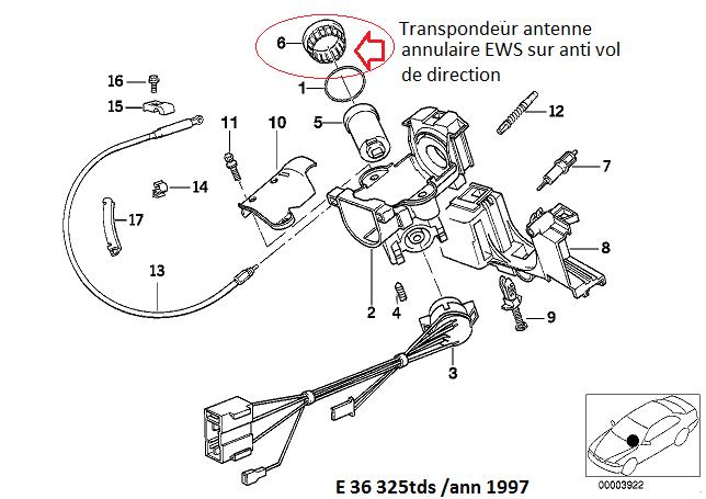 [ BMW E36 Touring 325 tds. M51 an 1995 ] Swap TDS en cours  >> Compatibilité ...(résolu) 32_e3610