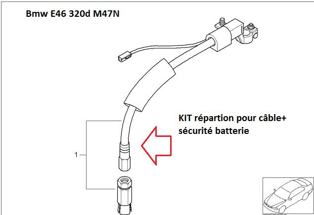 [ bmw e46 320d 1M47 an 2002 ]  Info prix câble sbk et prix fusible rupture (Abandonné ) 61_e4610