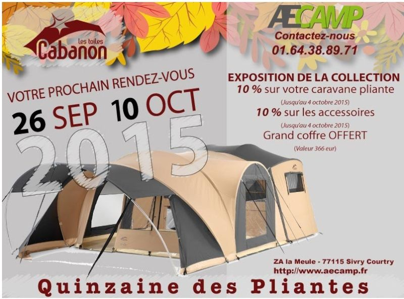 Offre cabanon AEcamp Aec10