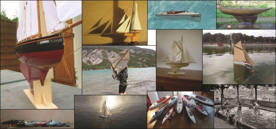 Voiliers, Canots & Sous-marins de Bassin