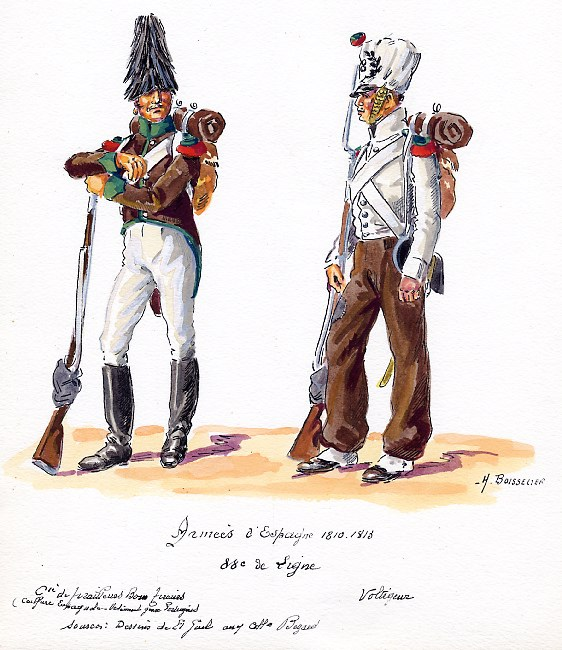 Grenadier 15e régiment Infanterie de la ligne Espagne 1807 MM 54m (modifications)  - Page 16 Image-10