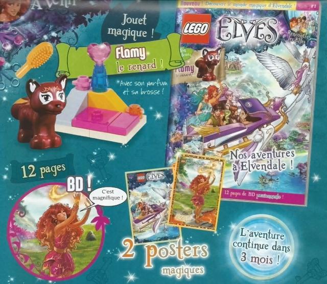 Le magazine trimestriel LEGO Elves Scan0012