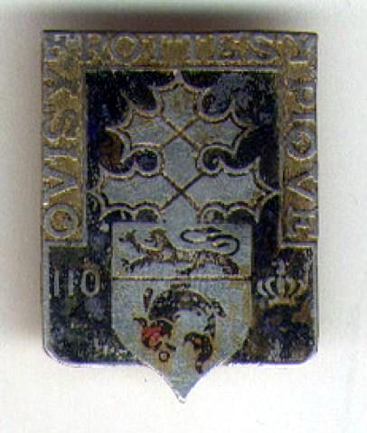 enfin l insigne de mon regiment 110 RI 01204211