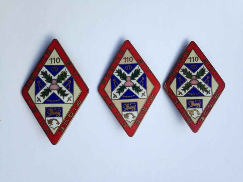 enfin l insigne de mon regiment 110 RI - Page 2 Img_2011