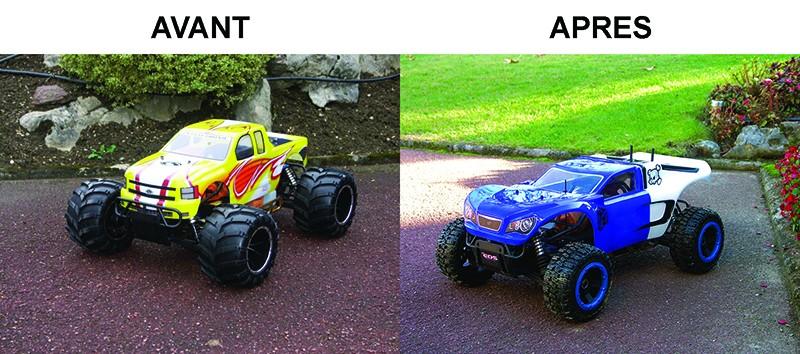 Mon Monster Truck 1/5 - T-R5 Turbo ou Rampage MT ou Maverick MT - Page 4 Transf10
