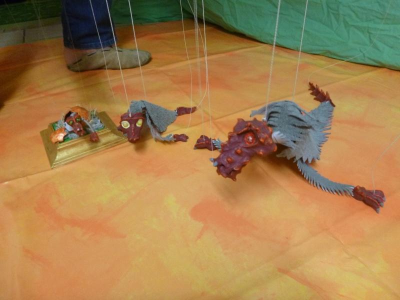 Marionette: Drachen mit Nachwuchs P1010110