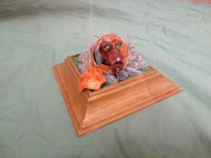 Marionette: Drachen mit Nachwuchs P1010111