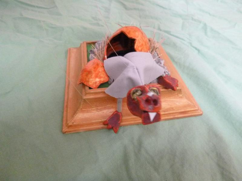 Marionette: Drachen mit Nachwuchs P1010113