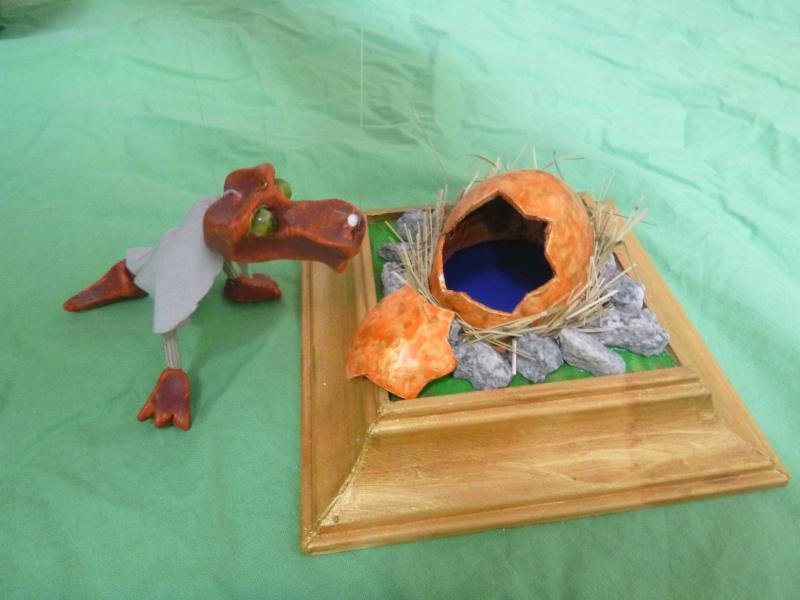 Marionette: Drachen mit Nachwuchs P1010114