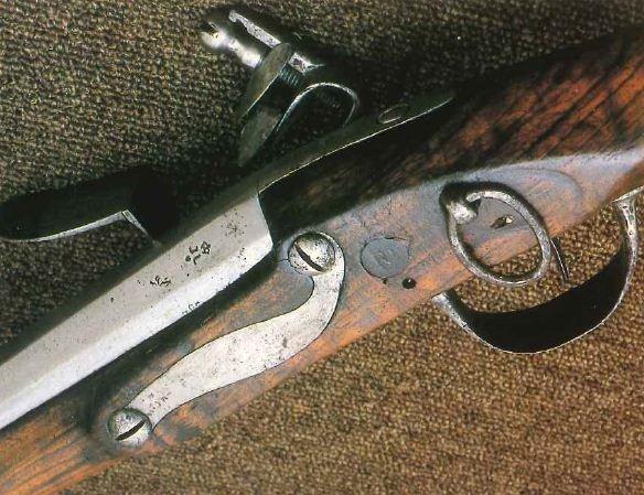 Mousqueton de cavalerie 1766 Chevil10