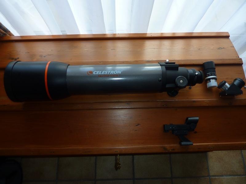 A vendre : Lunette CELESTRON Nexstar 102/660 + oculaire zoom P1050110