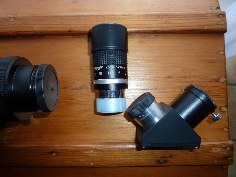 A vendre : Lunette CELESTRON Nexstar 102/660 + oculaire zoom P1050111