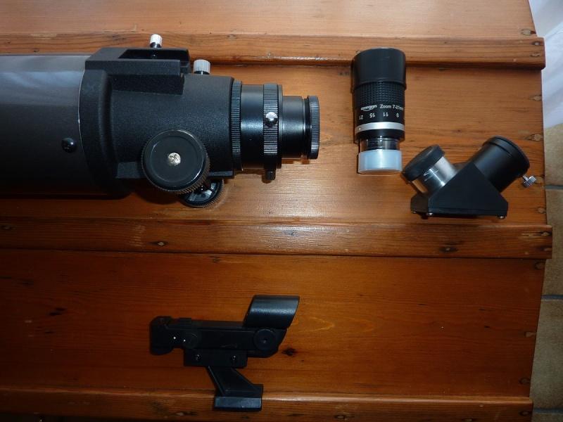 A vendre : Lunette CELESTRON Nexstar 102/660 + oculaire zoom P1050112