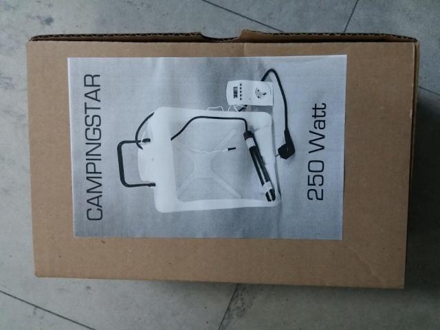 Chauffe eau CAMPING STAR 250W-220V Campin13