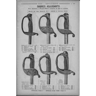 Sabre d'adjudant d'infanterie modèle 1845 juin 1914 _0000511