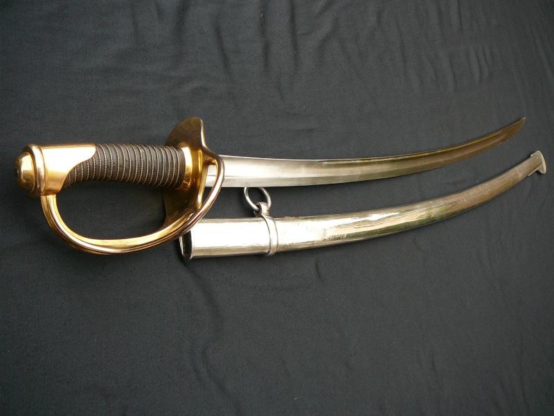 Les sabres de cavalerie légère modèle 1822 P1290218