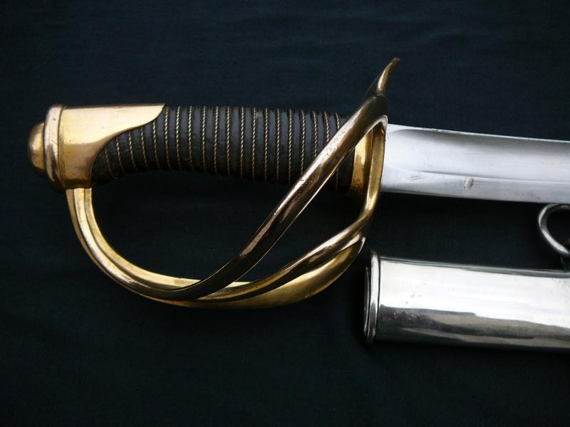 Les sabres de cavalerie légère modèle 1822 P1290220