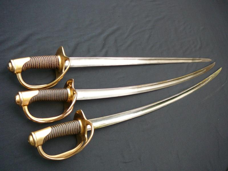 Les sabres de cavalerie légère modèle 1822 P1290222