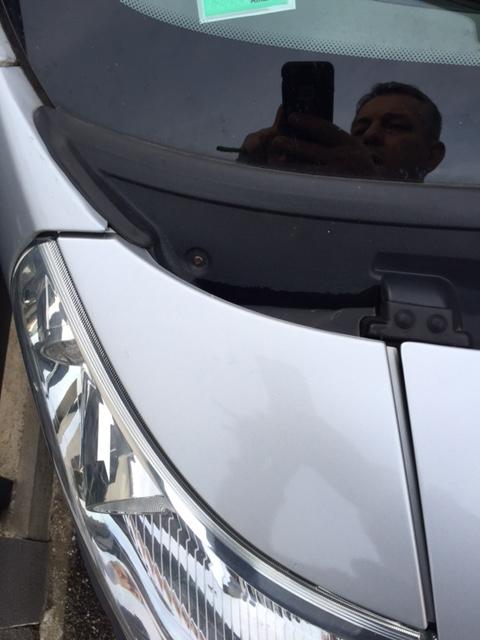 Eaux stagnantes bas de pare-brise Fiat Ducato Image21