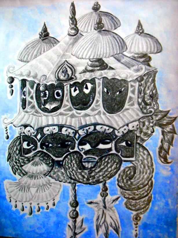 Dragons, chimères et créatures arc-en-ciel - Page 8 Coucou10