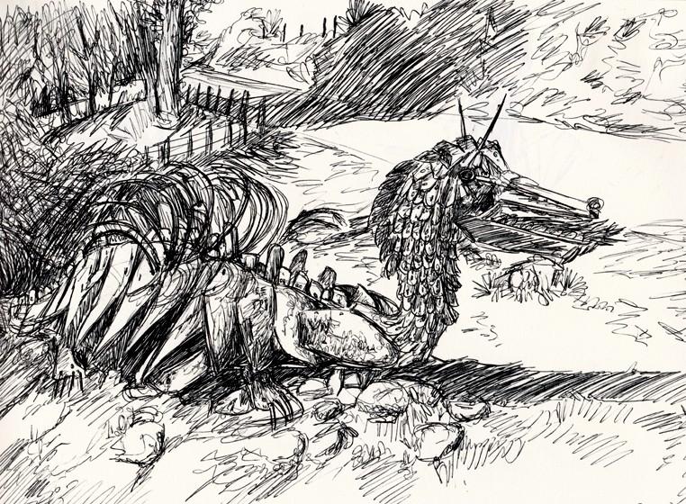 Dragons, chimères et créatures arc-en-ciel - Page 7 Img_2025