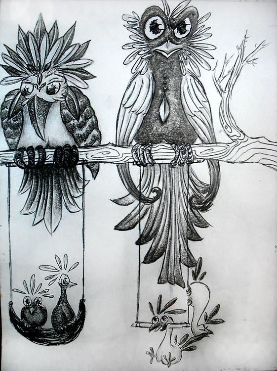 Dragons, chimères et créatures arc-en-ciel - Page 8 Les_pi10